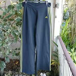 Adidas Grey Track or Yoga Pants sz L